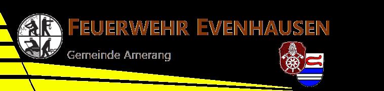 Ausbildung Feuerwehr Evenhausen